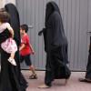 Mujeres musulmanas en una calle de Amsterdam.