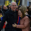 """Ledezma, exalcalde de Caracas, a su llegada a Madrid: """"En España me siento libre"""""""