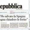 "Rajoy, a la prensa italiana: ""He salvado España"""