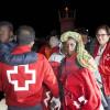 Rescatadas dos pateras en el mar de Alborán con 109 ilegales subsaharianos