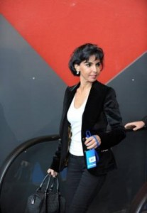 La ex ministra francessa y eurodiputada Rachida Dati