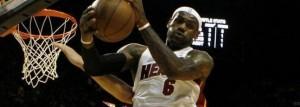 Lebron, jugador de la NBA
