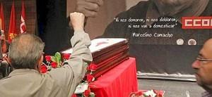 CAPILLA ARDIENTE DE MARCELINO CAMACHO