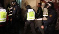 Imagen de archivo de una operación policial contra el yihadismo en Cataluña.