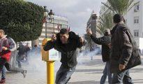 Revuelta en Túnez