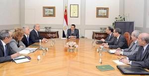 Ministros egipcios