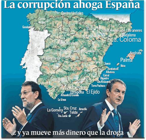 Resultado de imagen de españa corrupta
