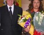 La presidenta de Parque Animal, Carmen Marín, junto al exalcalde de Torremolinos, el popular Pedro Fernández Montes.