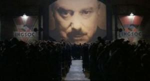 magen del film 1984 de Michael Radford, basado en la novela de George Orwell.