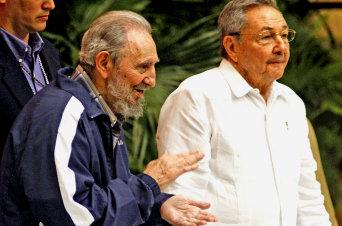 Los hermanos Castro.