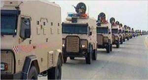 Ejército de Arabia Saudí.