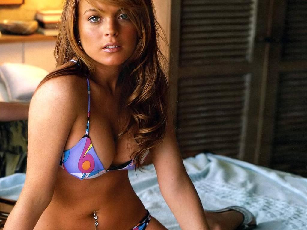Video fotos Lindsay Lohan se desnuda en su nueva