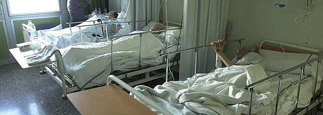 ancianas hospitalizadas