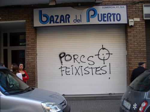 """La esquizofrenia catalanista llega al punto de calificar de """"fascista"""" el uso del español."""
