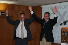 Josep Anglada (d) y Robert Hernando (i).