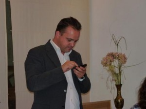 Robert Hernando, secretario general y portavoz municipal de PxC en Igualada.