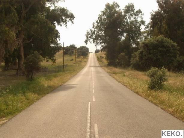 En este tramo de la antigua carretera de Extremadura fue asesinado el general Gabaldón.