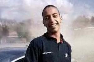 La única imagen existente del islamista asesino.
