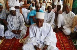 Mohammadu Bello Masaba, en primer término.