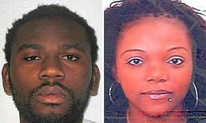 Eric Bikubi, de 28 años, y Magalie Bamu, de 29, acusado de torturar al hermano de ésta