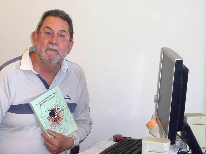 El periodista Pedro de Tena, uno de los autores del colosal trabajo de investigación sobre la corrupción en Andalucía.