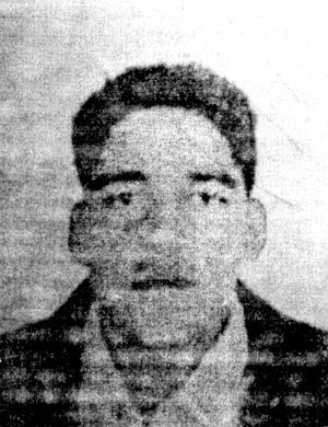 Imagen de T. R. F., el principal sospechoso, en una fotocopia facilitada a la Policía Local.