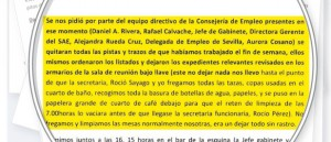 El parlamentario Ramón Díaz, a una asesora: «Llamo desde la sede y no estoy solo»