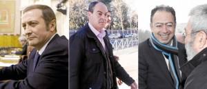 Ramón Díaz Alcaraz, Juan Márquez Contreras y Daniel Alberto Rivera