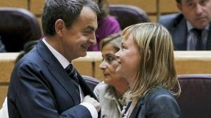 El poder judicial en España es el ojo que todo lo ve jesuita y... El rey! Zapatero-y-pajin1-300x168