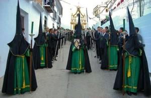 Semana Santa en Almogía (Málaga).