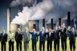 Miembros europeos del club Bilderberg.