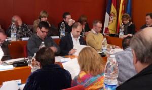 Pleno en el Ayuntamiento de Sant Boi.