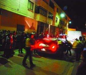 La última detención, entre vítores a la Guardia Civil, fue la del famoso frutero y se realizó en la Avenida de Cerezo.