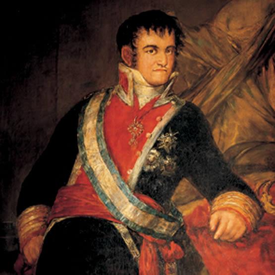 Fernando VII, un canalla con corona.