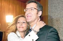 Carmen Gámir, compañera sentimental del presidente de Galicia y jefa de Prensa de la Secretaria de Estado de Presupuestos.