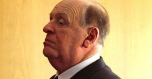 La imagen de Hopkins como Hitchcock