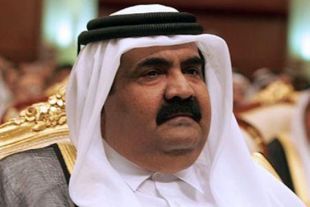 El emir Hamad Bin Khalifa Al Thani, patrón de la cadena Al Jazira y dinamizador de grupos islamistas de todo pelaje.