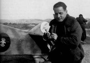 García Morato, héroe de la aviación española.