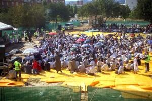 Musulmanes en Reus.