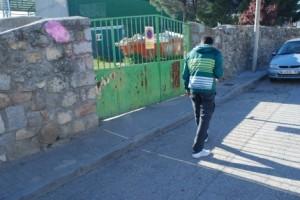Imagen del escenario del crimen perpetrado por jóvenes ultraizquierdistas de nacionalidad española, portuguesa y marroquí.