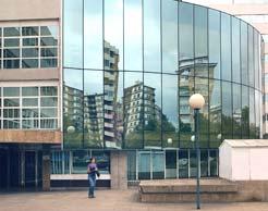 Oficinas centrales del Servicio Navarro de Empleo.