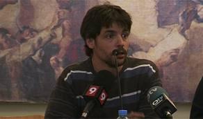 Pep Mas durante la rueda de prensa