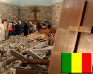 Sede de Caritas en Mali, destrozada por los islamistas