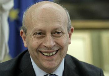 José Ignacio Wert, ministro de Educación.