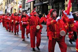 Mujeres chinas en España.