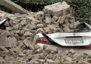 El terremoto ha provocado grandes daños materiales