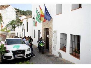 Fachada del Ayuntamiento de la localidad malagueña de Casares
