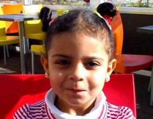 Diana Farkas, la niña asesinada.