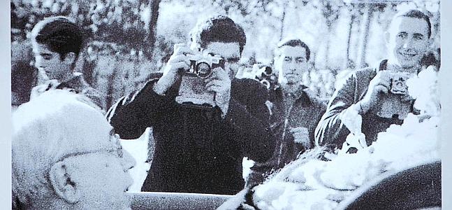 Una de las fotografías inéditas de Centellles. /Marta Pérez