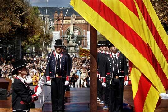 Los Mossos, un cuerpo policial ineficiente al servicio de la casta nacionalista catalana.